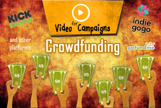 create a professional CROWDFUNDING fundraiser intro video