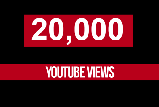 I will Add 20,000 youtube views and 200 likes