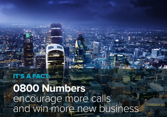 I will provide an 0800 phone number for your business - make your company's marketing look p
