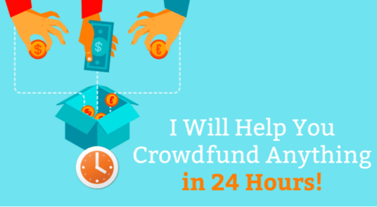 I will help you crowdfund Kickstarter, Indiegogo, Gofundme, IGG, anything in 24 hours