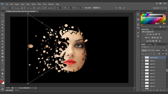 I will do any photoshop editing work within 24 Hrs