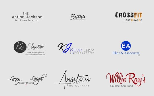 design outstanding signature logo for you