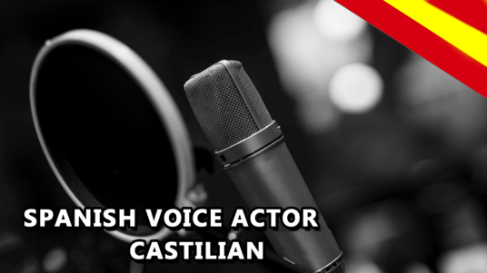 record a Professional Castilian voice Over in Spanish