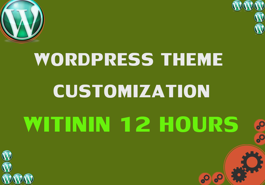 I will Customize WordPress Theme Professionally Within 12 Hours