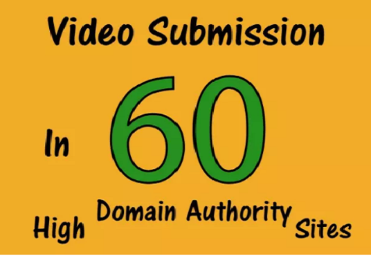 I will  manually share your video to top 60 Video submission sites with Proof