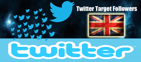 I will 1.000+UK Twitter followers HQ within 24 hours fast delivery