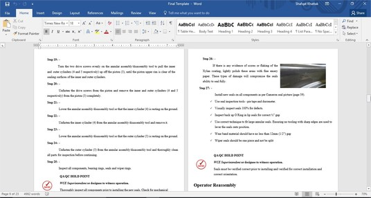 I will professionally format your Word Document