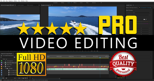I will professionally edit your videos in 24hrs