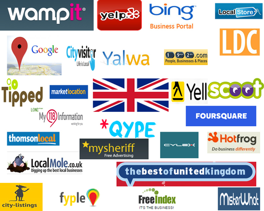 I will create 60 best UK local citations