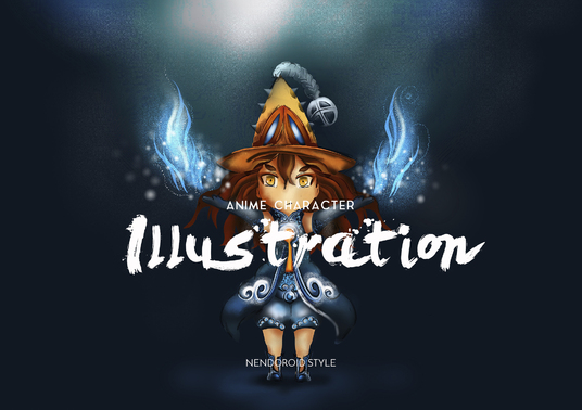 I will Create  illustration Anime character