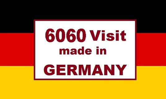 I will Send 6060 human  real ORGANIC Germany  visitors  Targeted Traffic