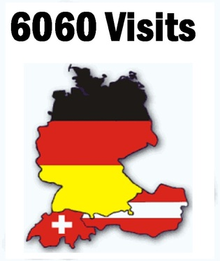 Send 6060 human  real ORGANIC Germany  visitors  Targeted Traffic