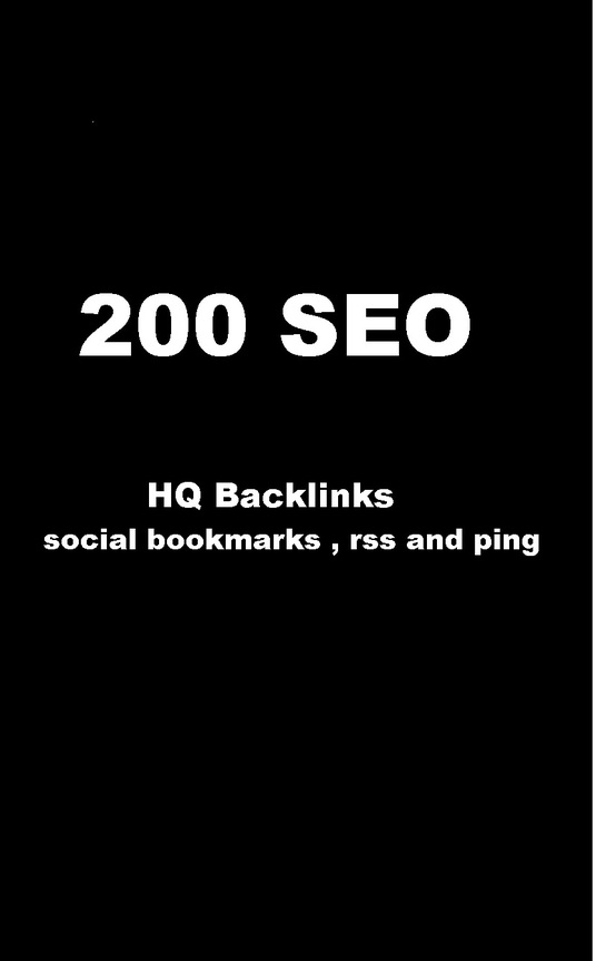 I will Add your site to  200 SEO  SOCIAL BOOKMARKS  as  Backlinks, rss and ping