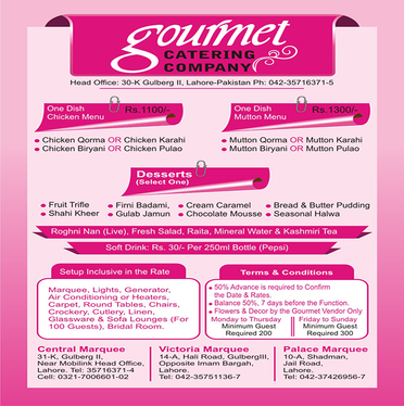 create eye catching Flyer and brochure design