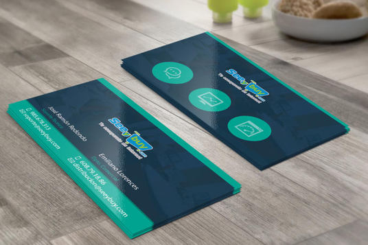 I will design professional, modern, double sided business card