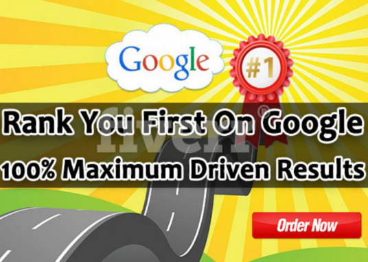 I will create a high PR backlink campaign to RANK You First On GOOGLE