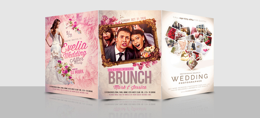 I will Design  Classy  Wedding Flyer for you