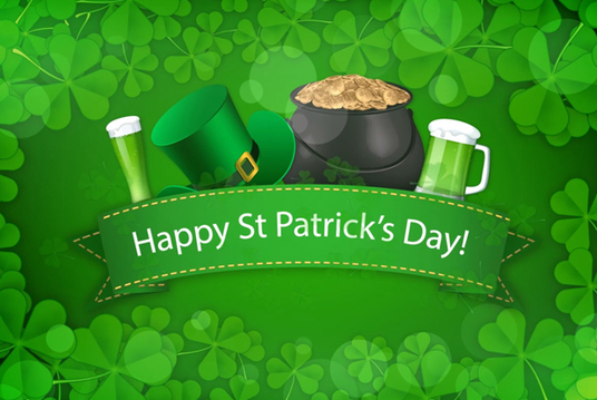 create all 3 St Patrick's day greeting videos