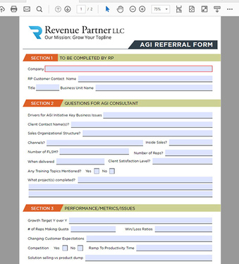 Create Fillable PDF form with unlimited revisions for £5 : fiven ...