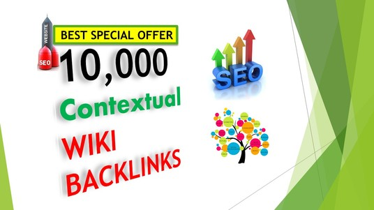 I will Provide 10,000 Wiki links for Google SEO
