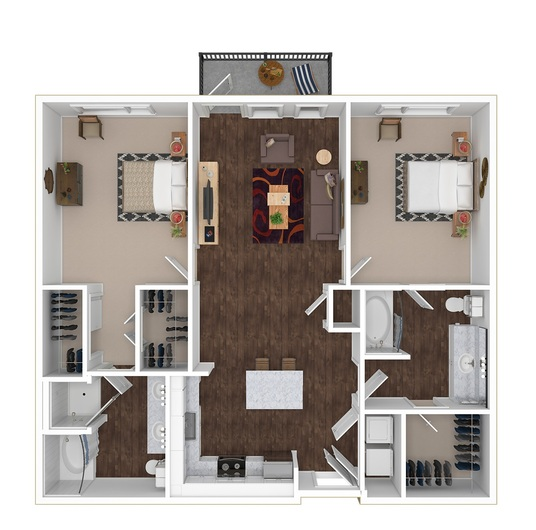 I will Produce High Quality 3D Floorplan (Furnished and Unfurnished)
