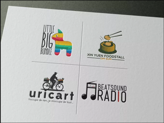 I will design beautiful minimal logo for your firm