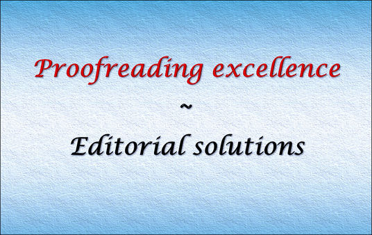 I will Professionally proofread and edit 600 words of blog or web content