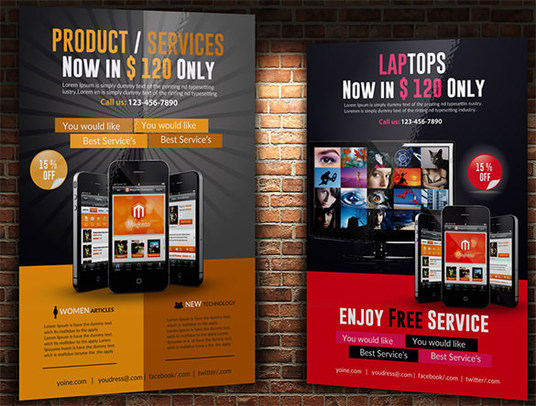 I will design killer flyers and banners