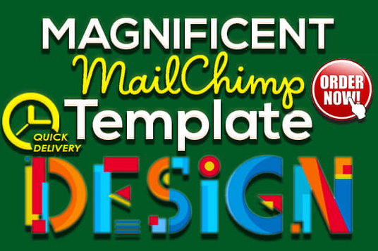 I will design responsive and stunning mailchimp template