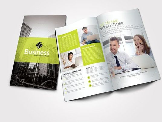 I will design professional trifold, byfold brochure
