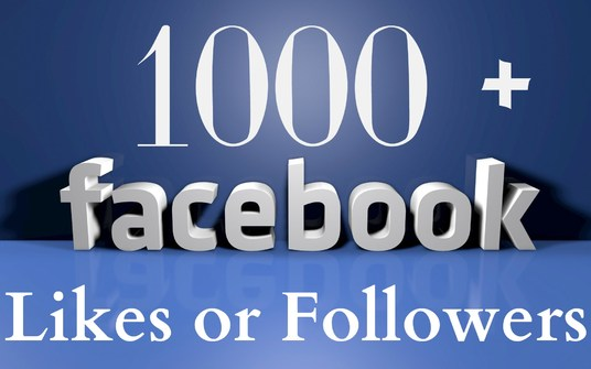 I will generate 1000 REAL Facebook likes