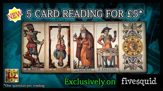 I will give a 5 card Tarot reading