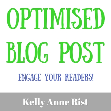 create an ENGAGING post for your blog, optimised for YOUR target keywords