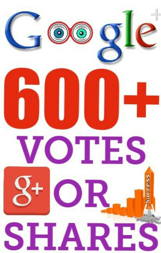 I will 600+ Real Google +1 votes or shares to increase your ranking SEO