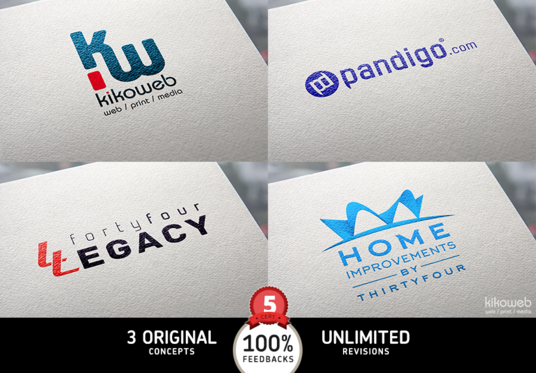 I will design 3 stunning and  professional logos for your company or brand within 24 hours