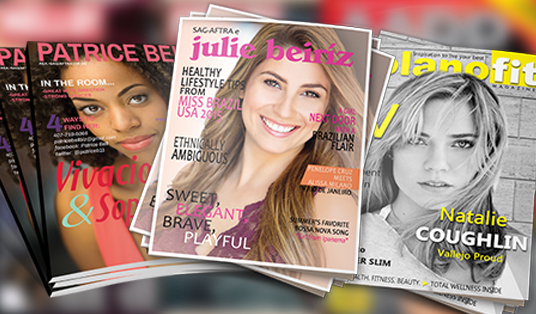 I will create magazine covers for you with bonus