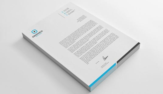 I will design a CLEAN Letterhead