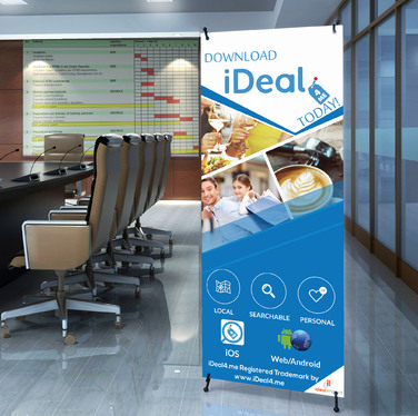 make a professional Roll Up Banner
