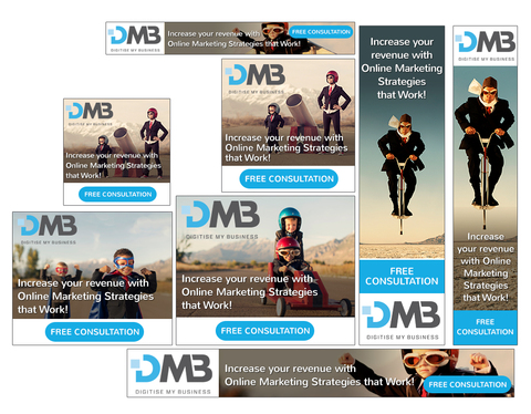 Design 6 Professional Web Banners