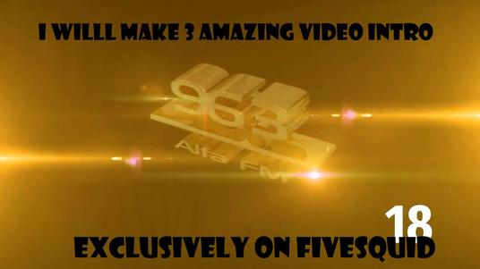 I will Create 3  Amazing Video Intros