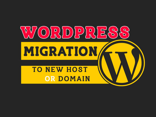 I will move WORDPRESS site to new host or domain