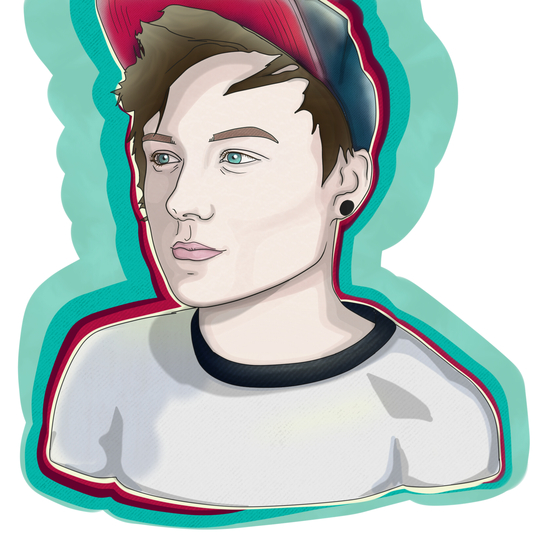 I will design a vector illustration/avatar from your picture