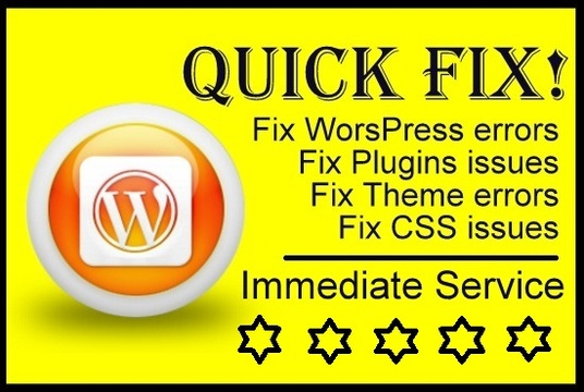 I will fix Wordpress errors and CSS issues Urgently