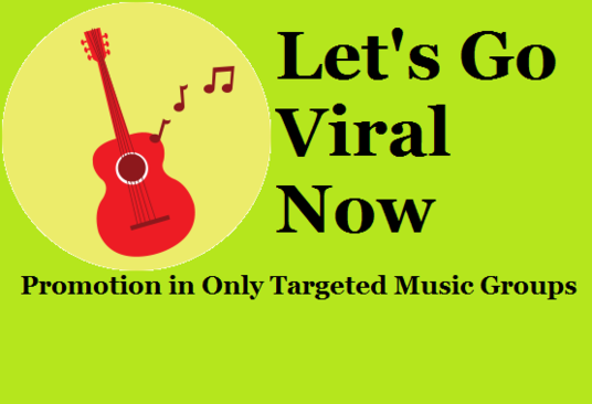 I will boost Your Music With Targeted Facebook Groups Promotion