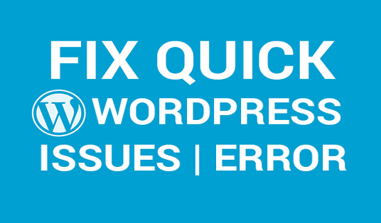 I will fix Wordpress Website issues and problems