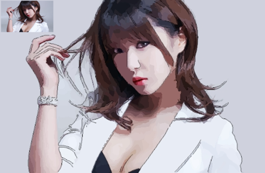 I will draw cartoon version of your photo