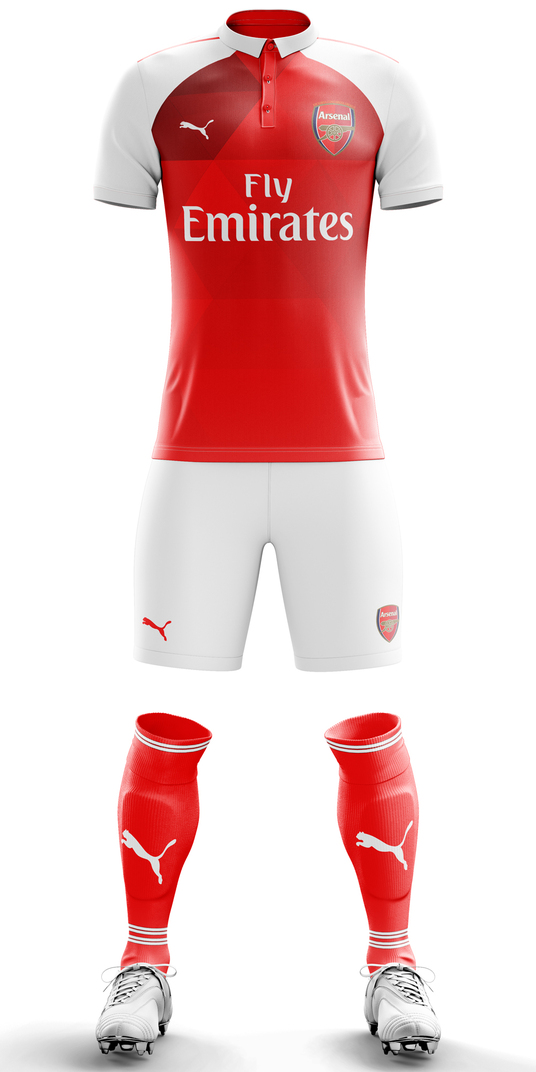 I will create custom concept football kits on photoshop