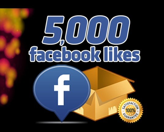 I will give 5000 non drop fanpage likes