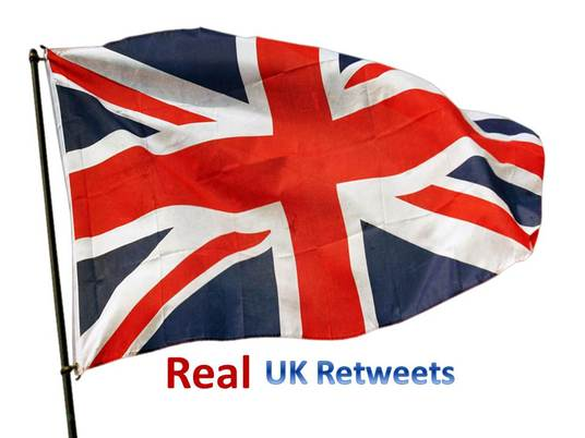 I will get your Tweet ReTweeted 100+ times on Real UK Profiles just