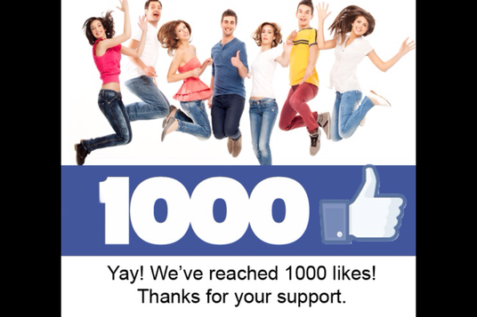 I will Add 1000 permanent Facebook post likes